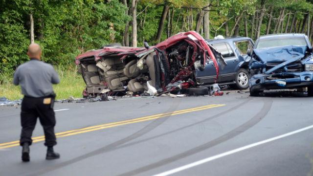 Deadly crash car in pennsylvania